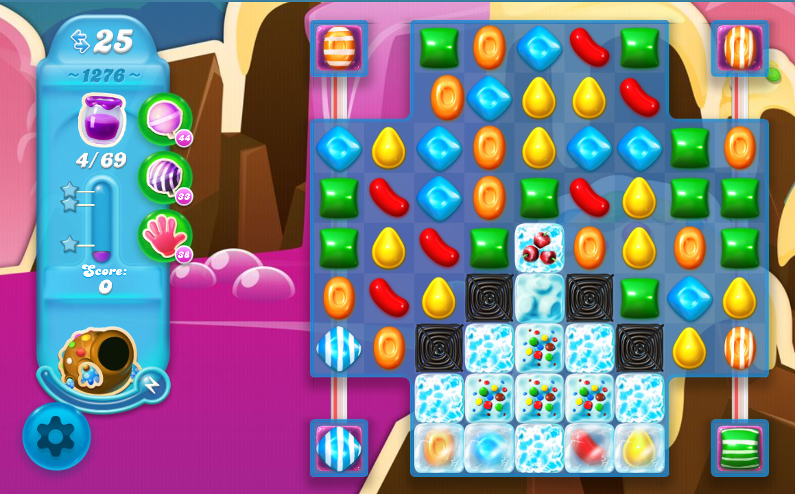 Candy Crush Soda Saga level 1276