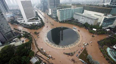 Dibandingkan Tahun Sebelumnya, Curah Hujan di Jakarta Saat Ini Masih Kecil