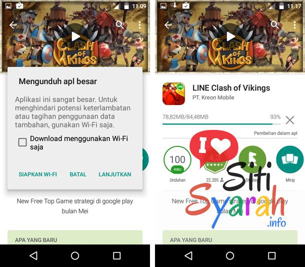 cara memperbaharui aplikasi Android