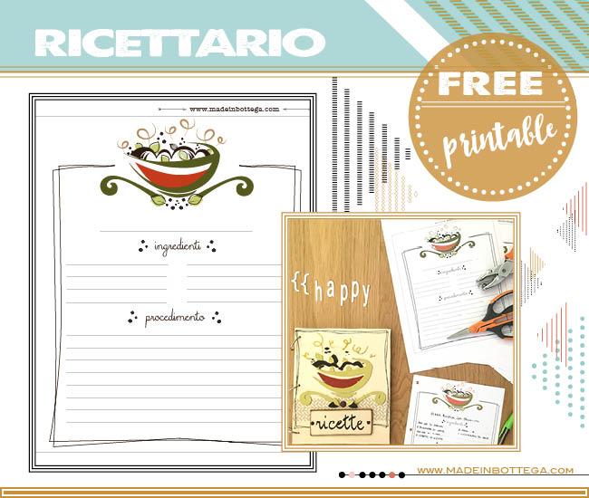 free-printable-ricettario