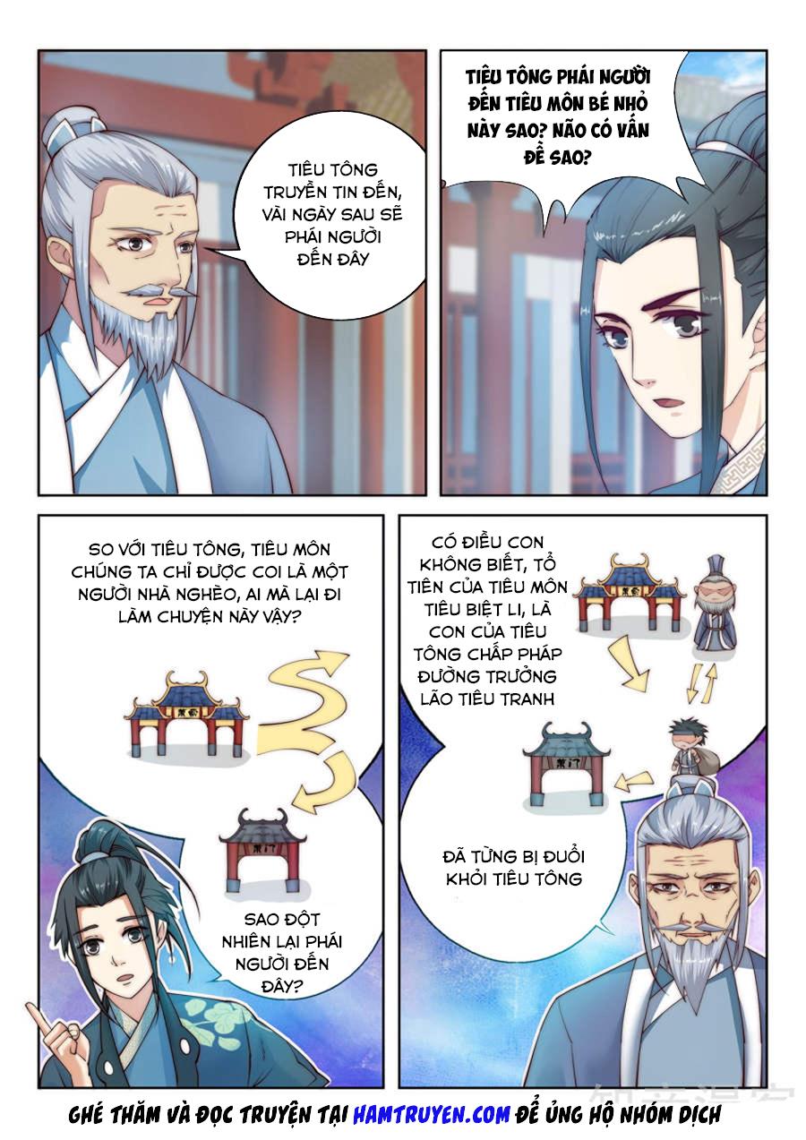 Nghịch Thiên Tà Thần - Chap 10