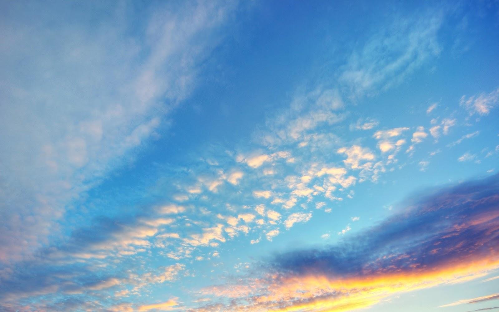 Evening sunset sky clouds 2560x1600 - 105年指考結束,準備好一起迎接妖精的號角的回歸了嗎!
