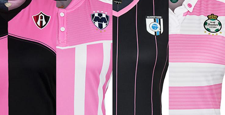 free shipping 33961 b0de1 Puma Unveils Pink Atlas, Monterrey, Querétaro and Santos ...