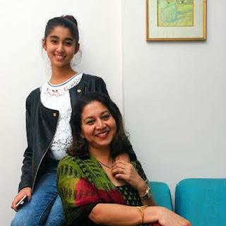 Sudha Rani daughter Nidhi