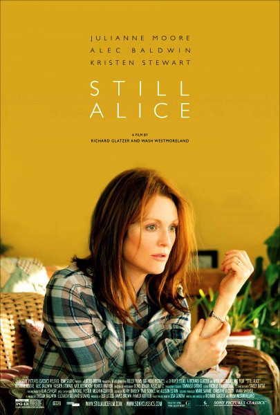 Still Alice Movie (Julianne Moore, Alec Baldwin, Kristen Stewart) - Poster