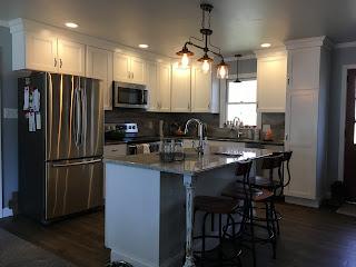 Unfinished Kitchen Island With Optional Finishing Kit