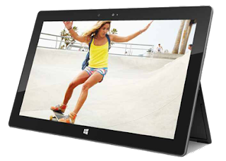 Microsoft's Surface Tablet PC Display