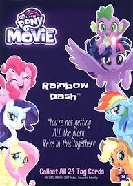 My Little Pony Rainbow Dash My Little Pony the Movie Dog Tag