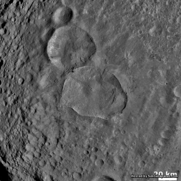 'Snowman Crater'