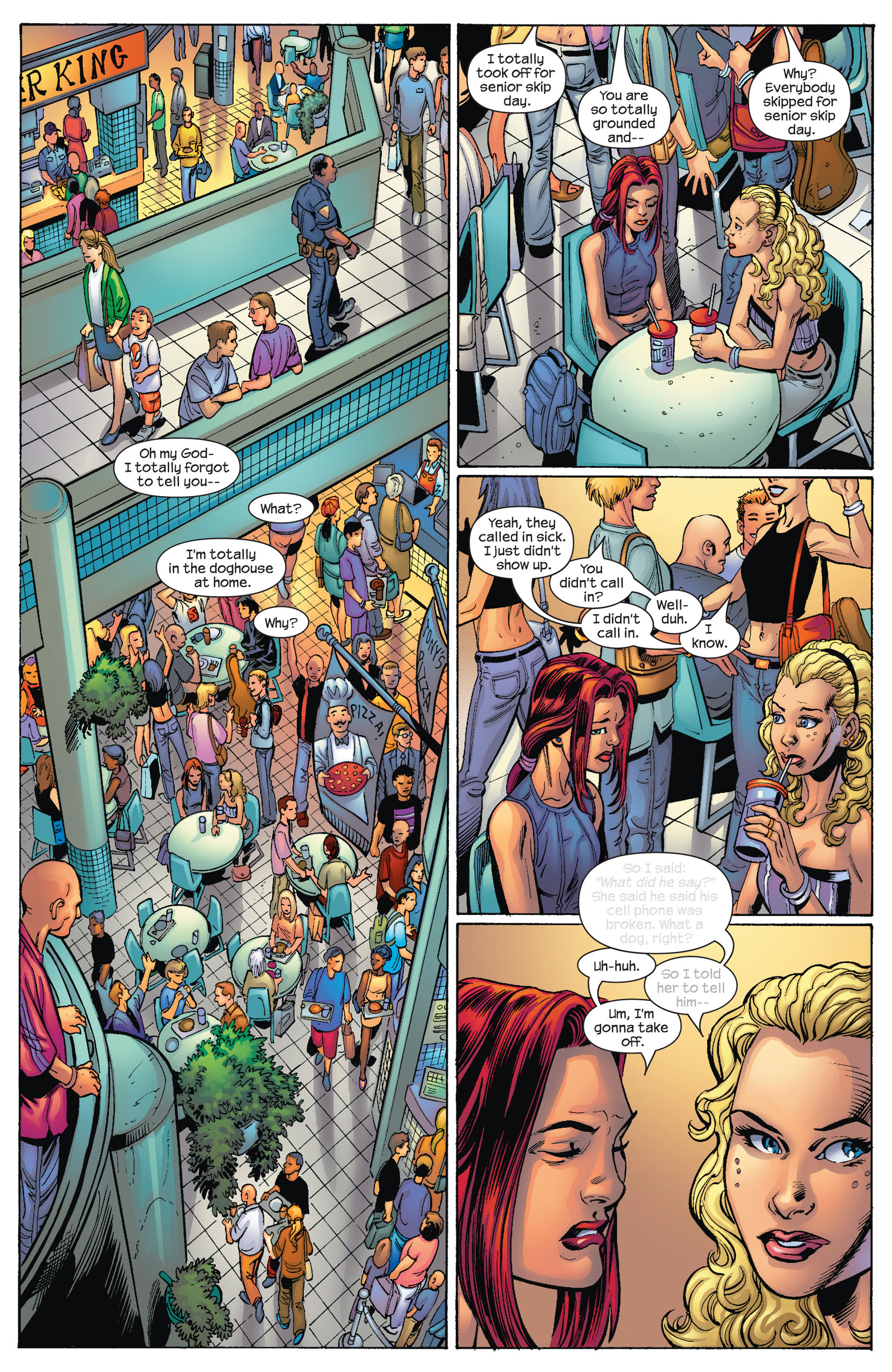 Read online Ultimate Spider-Man (2000) comic -  Issue #78 - 6