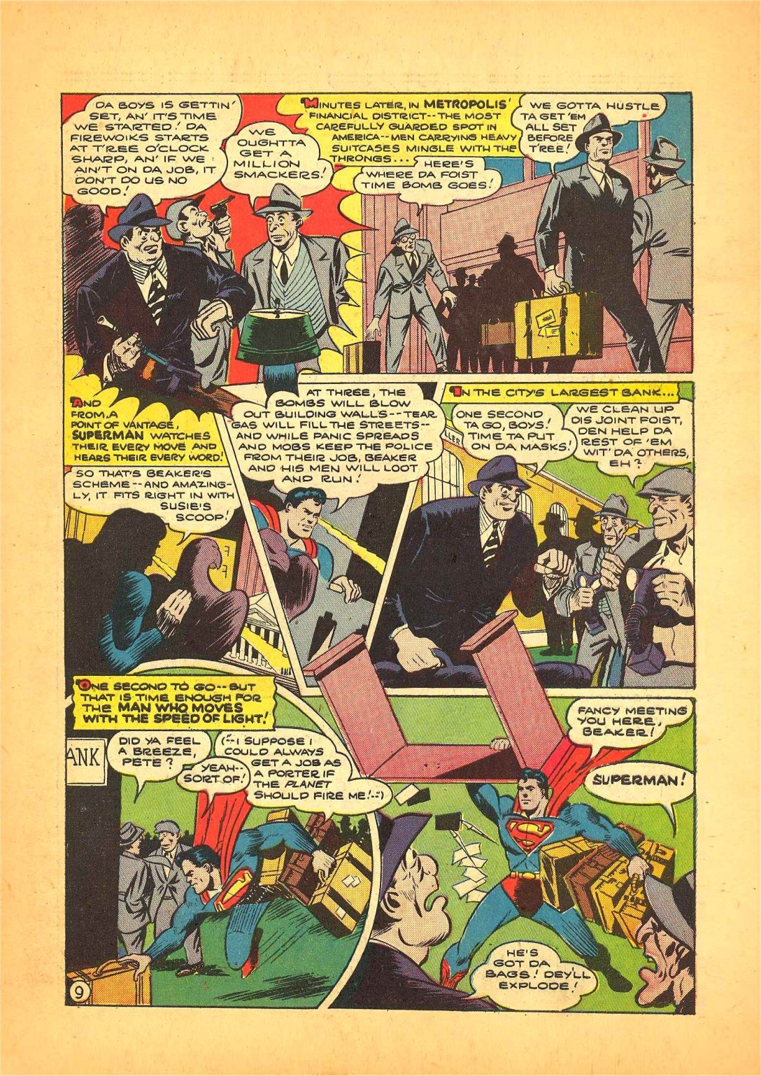 Read online Action Comics (1938) comic -  Issue #68 - 10