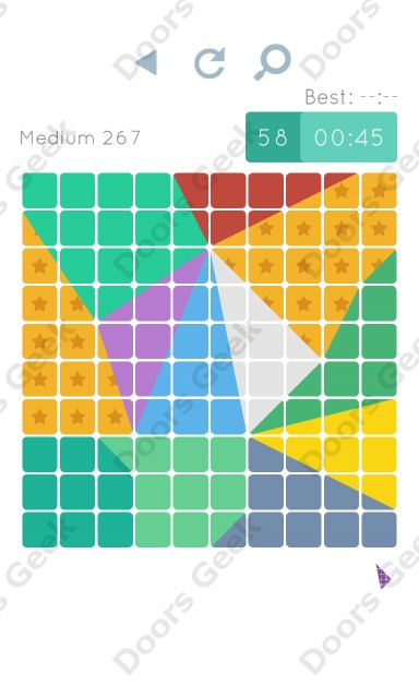 Cheats, Walkthrough for Blocks and Shapes Medium Level 267