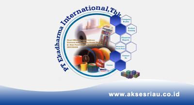 Lowongan PT. Ekadharma International Tbk Pekanbaru November 2017
