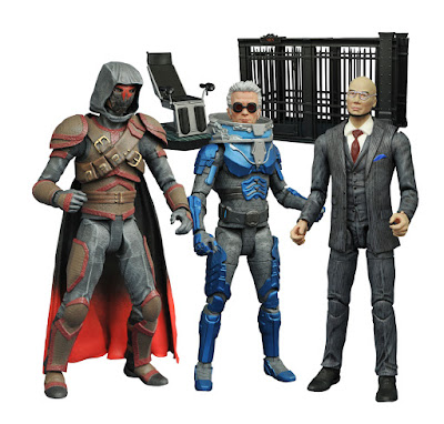 Gotham TV Series Select Action Figures Wave 4 by Diamond Select Toys – Azrael, Mr. Freeze & Professor Hugo Strange