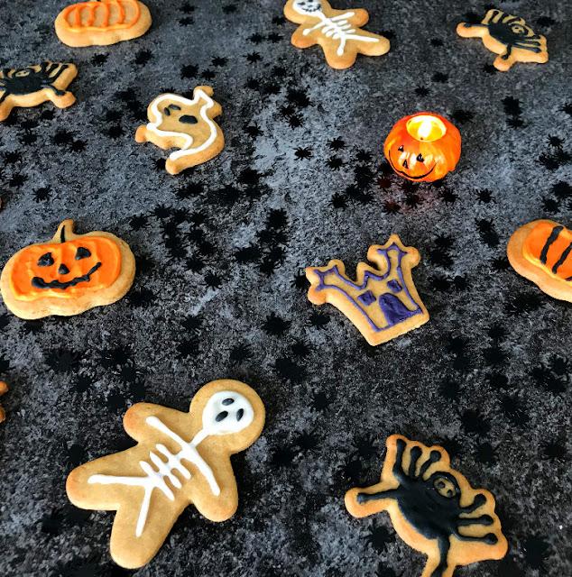 Gouter Halloween - Sablé facile a faire - Un joli coup de fourchette