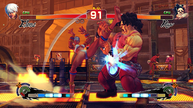 Ultra Street Fighter IV Captura 2