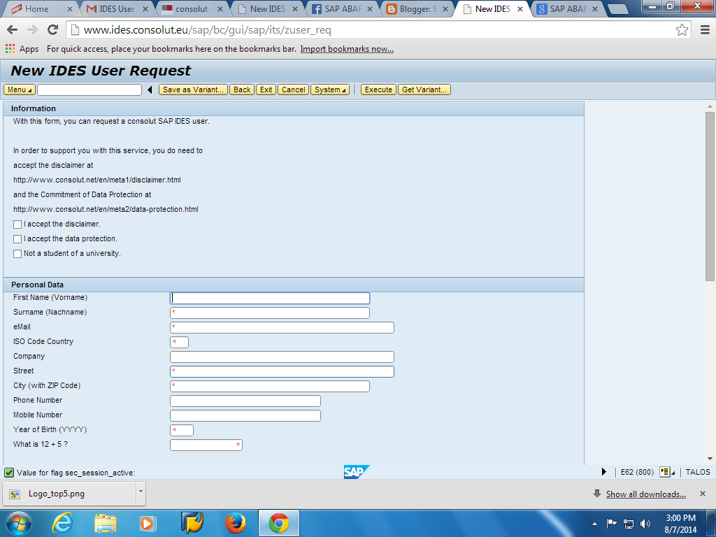 How To Access Free Sap Ides Server Remotely