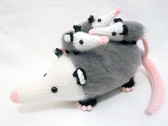 Possum Crochet pattern