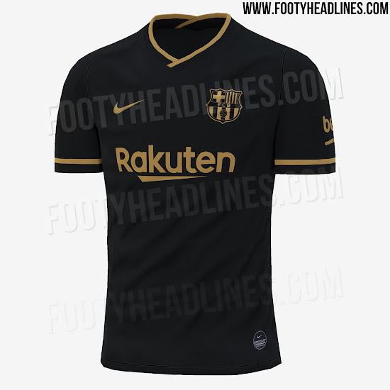 Camiseta suplente FC Barcelona 2020