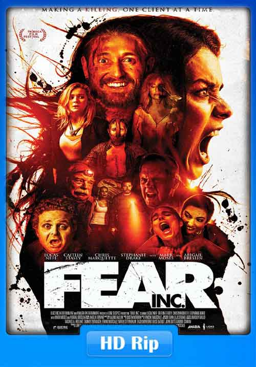 Fear Inc 2016 Poster