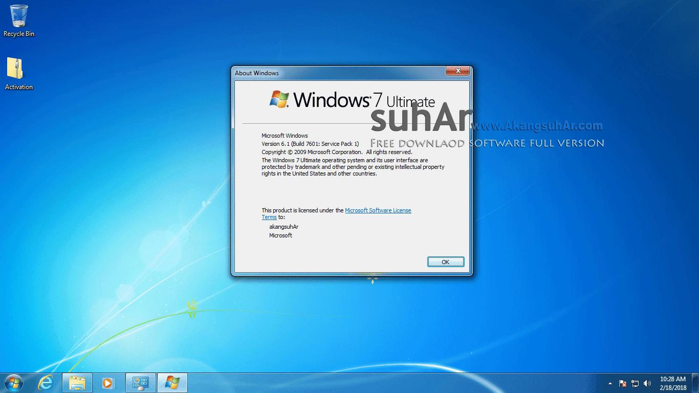 Download Windows 7 Ultimate SP1 2018 Full Serial Key OEM. Windows 7 Ultimate SP1 kuyhaa. Windows 7 Ultimate SP1 bagas31. Windows 7 Ultimate SP1 gigapurbalingga.