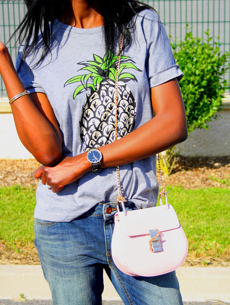 Chloe-drew-bag-ananas-tee-blog-mode