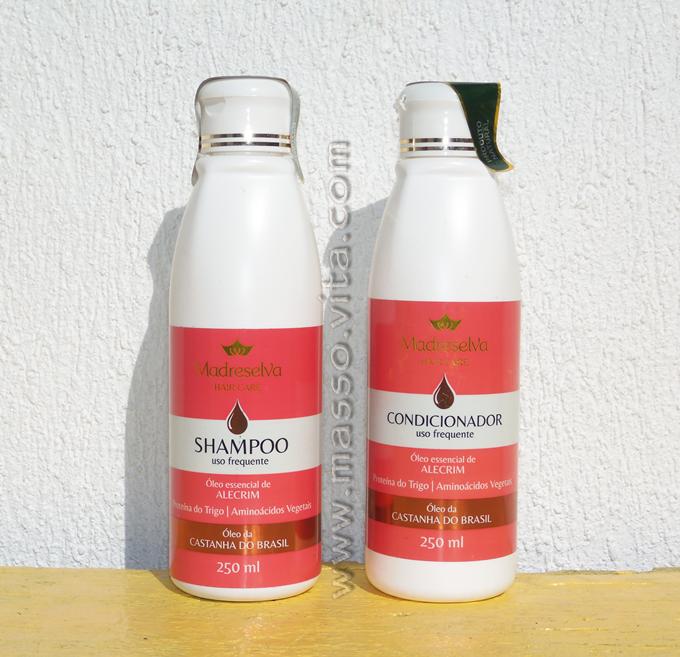 Shampoo e Condicionador Madreselva