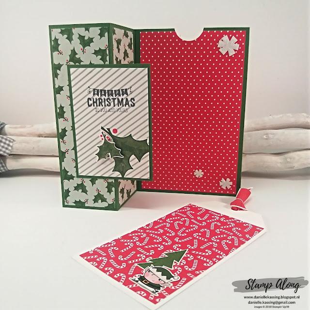 Stampin' Up! Santa's Workshop DSP