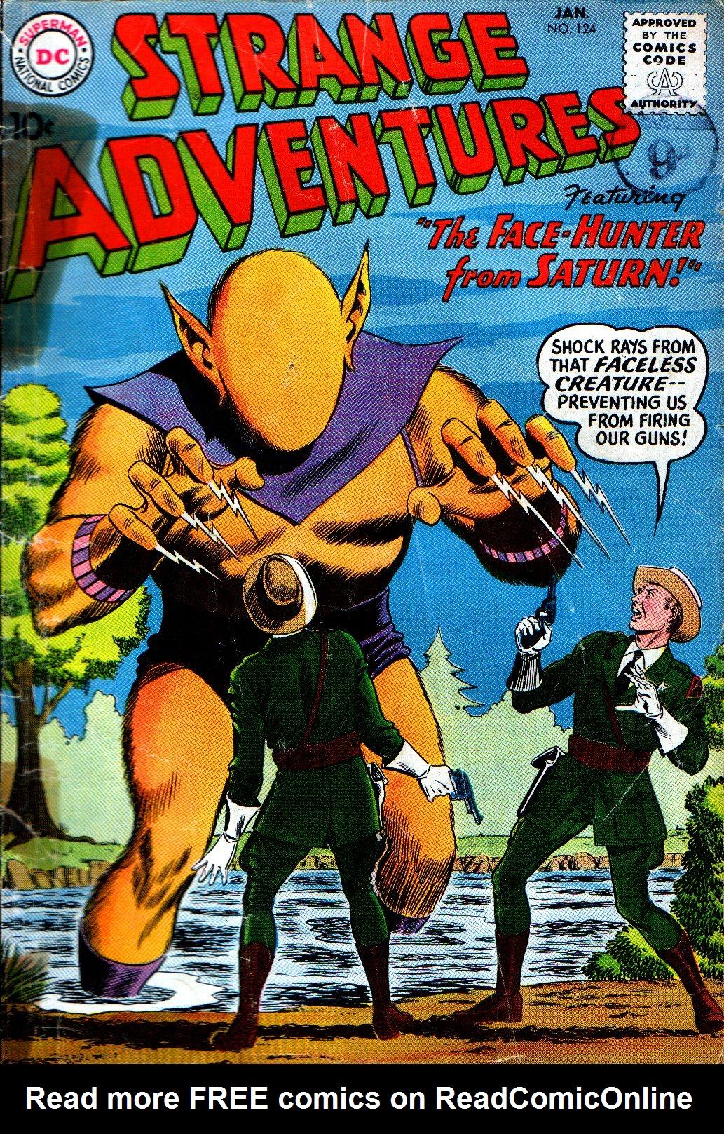 Strange Adventures (1950) issue 124 - Page 1