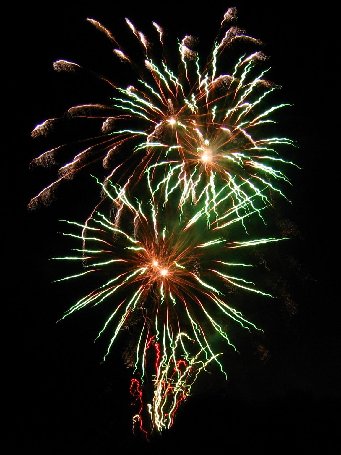 Algarrobo Al Dia Fuegos Artificiales De Ano Nuevo