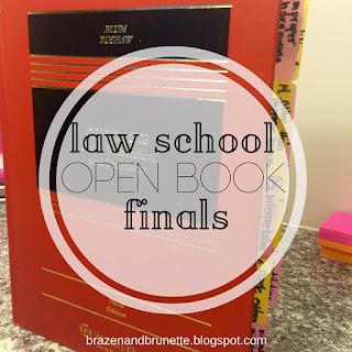 your guide to an open book final | brazenandbrunette.com