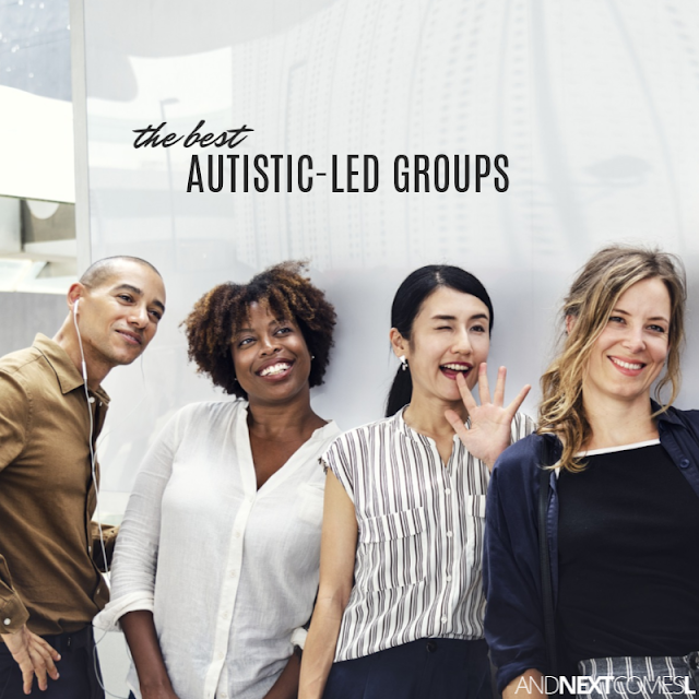 Autistic-led Facebook groups