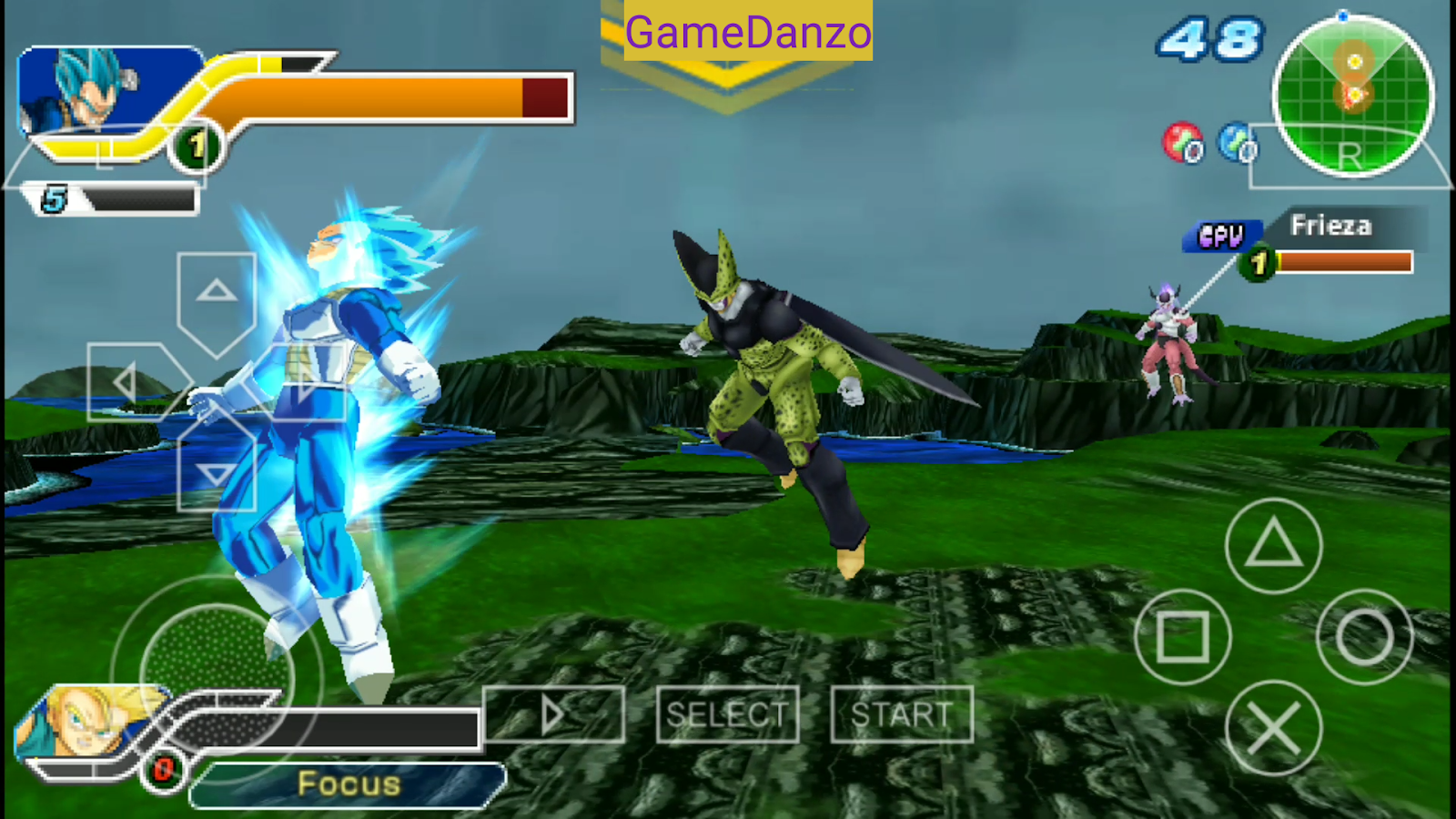 dragon ball tag team psp iso free download