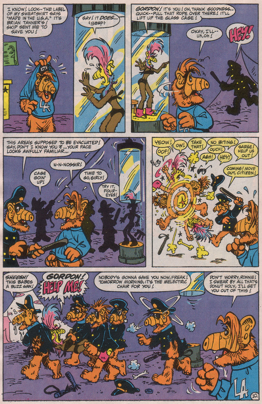 Read online ALF comic -  Issue #42 - 16