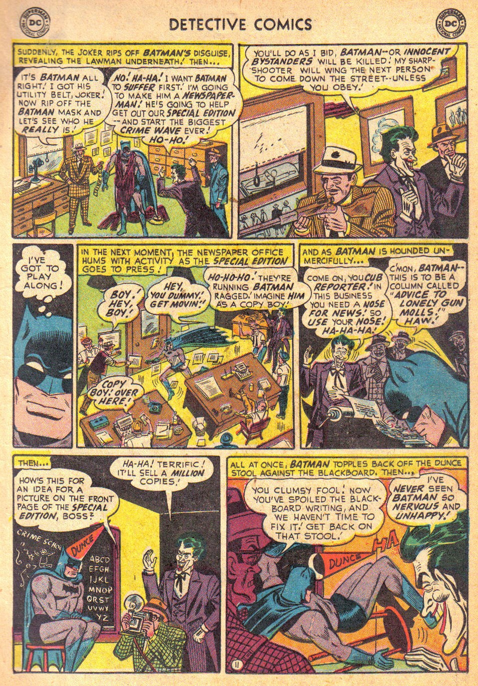 Detective Comics (1937) 193 Page 12