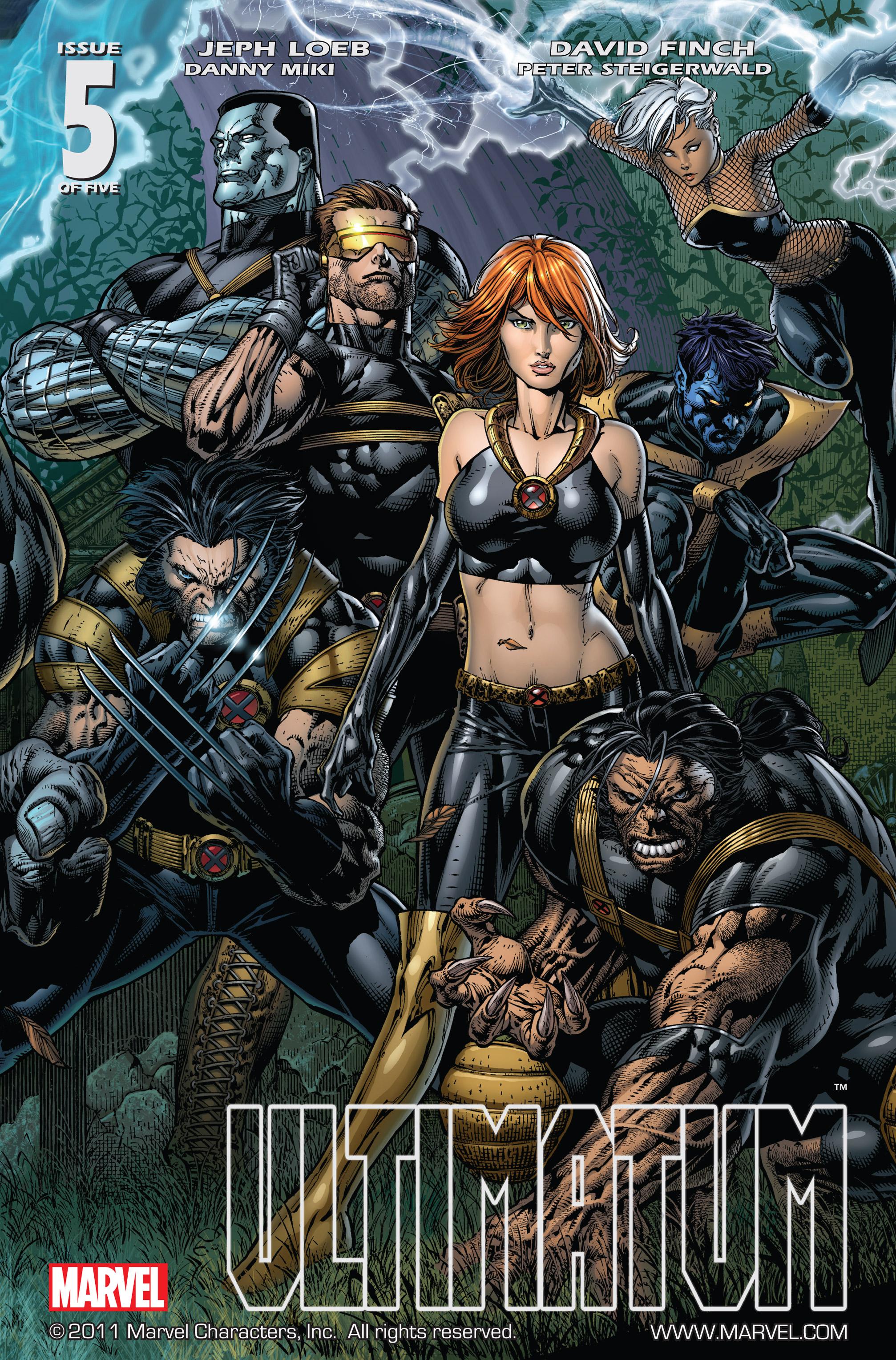 Read online Ultimatum comic -  Issue # _TPB - 94