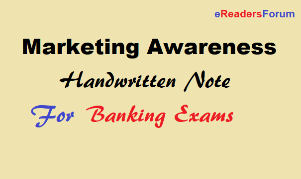 marketing-awareness-handwritten-note
