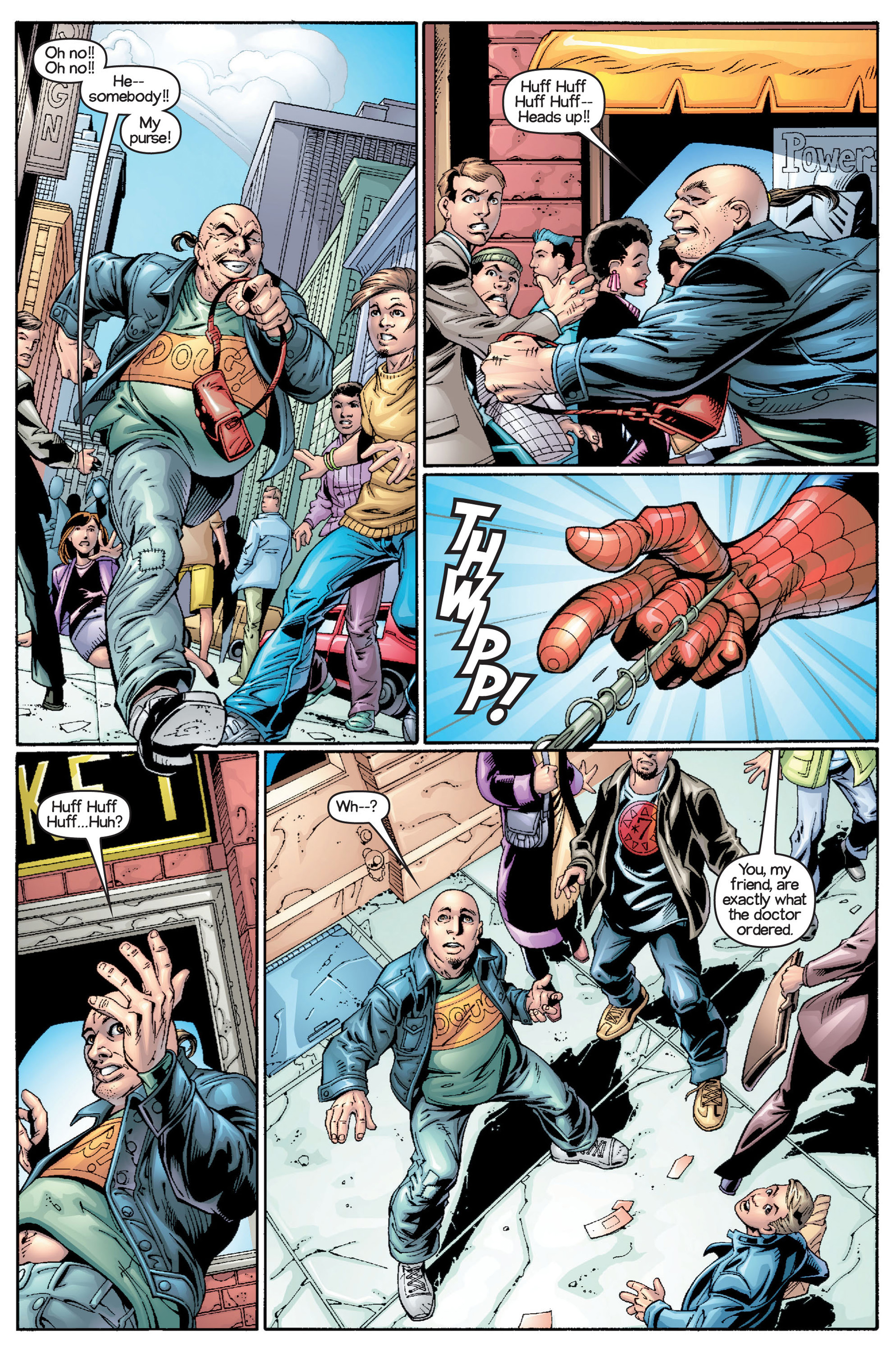 Read online Ultimate Spider-Man (2000) comic -  Issue #15 - 16