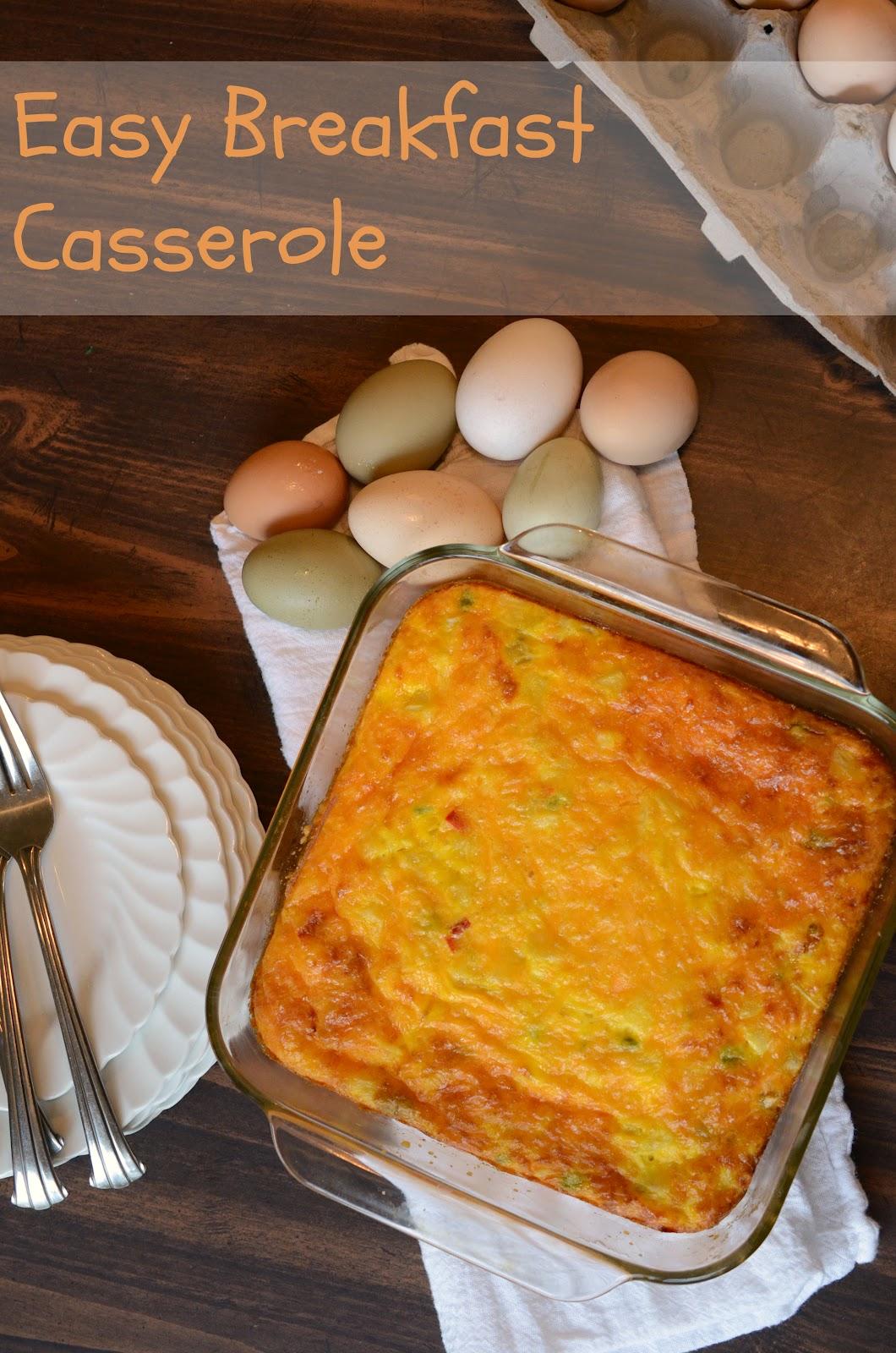 Easy Egg And Potato Breakfast Casserole