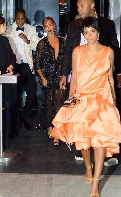 Video - Jay Z and Solange Get Into a Fight After the Met Gala
