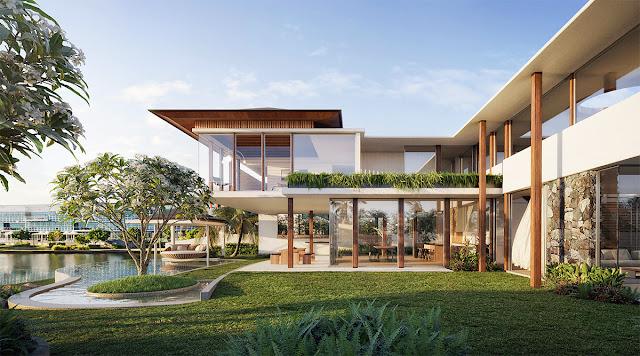 แบบบ้านสวยๆตกแต่งด้วยต้นไม้