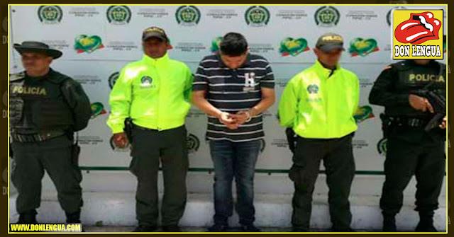 Capturado venezolano que blanqueaba dinero del narcotráfico en Colombia