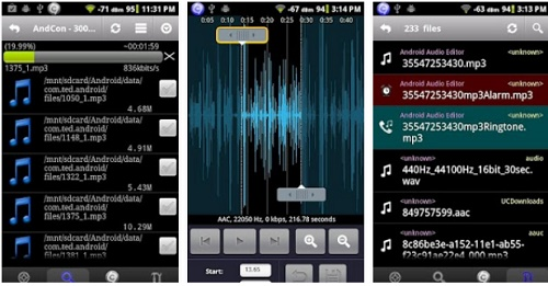 aplikasi untuk edit lagu di hp Android
