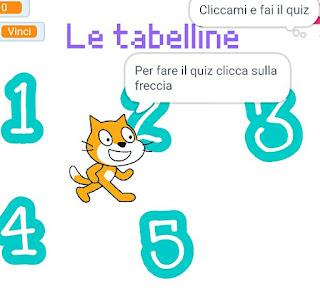 Scratch quiz matematica