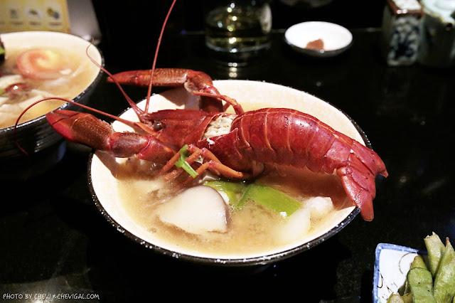 IMG 1387 - 熱血採訪│那一間日式串燒居酒屋,你沒看錯!整隻龍蝦的超級豪華版味噌湯只要100元!台中宵夜推薦來這就對了!