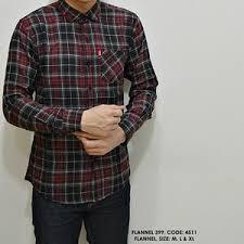 Trend Baju Kemeja Pria Kotak - Kotak Lengan Panjang Terbaru