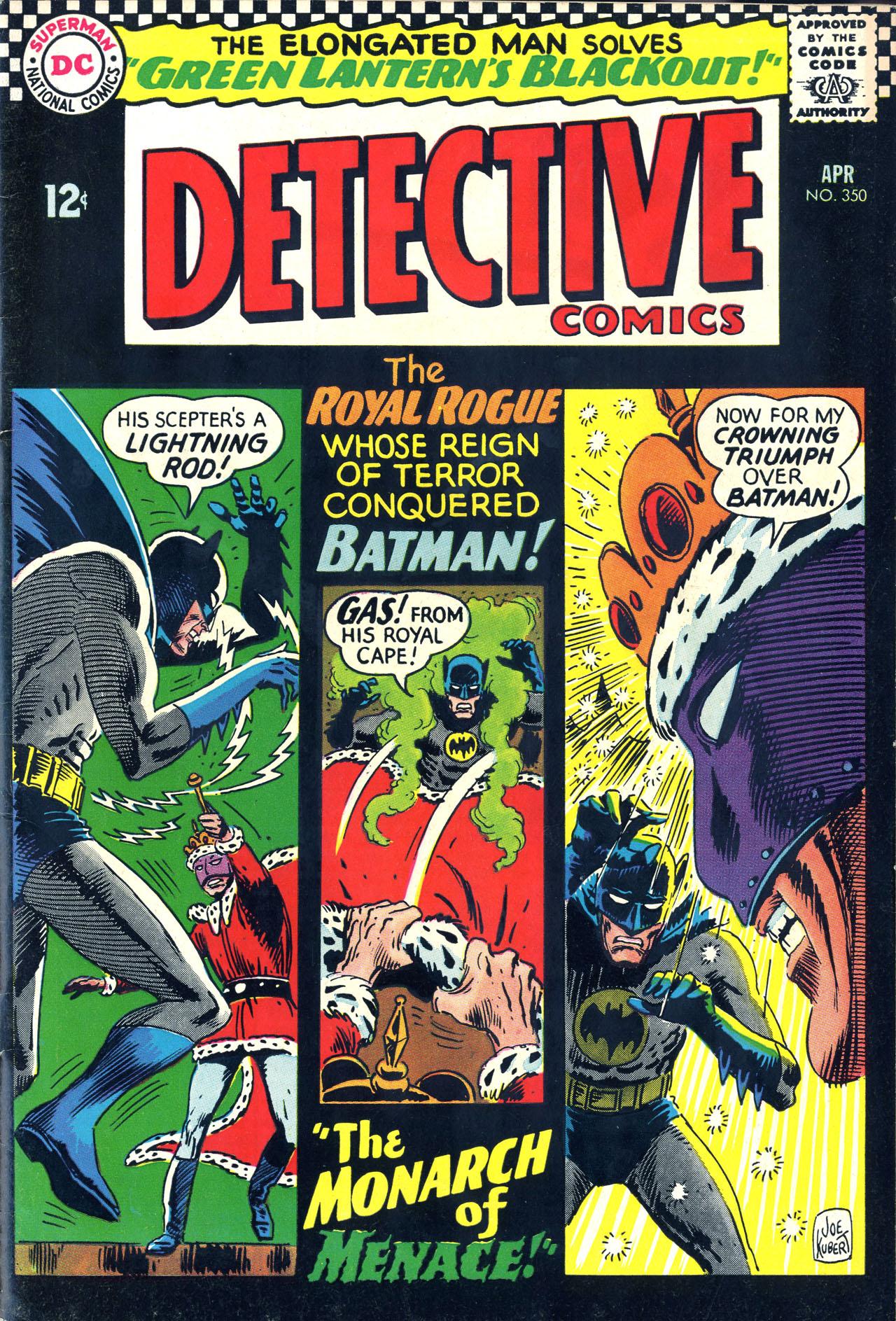 Detective Comics (1937) 350 Page 0
