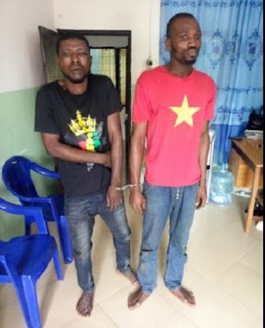 Meet Two Friends Allegedly Nabbed While Driving Stolen Vehicle