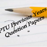PTU Question Papers