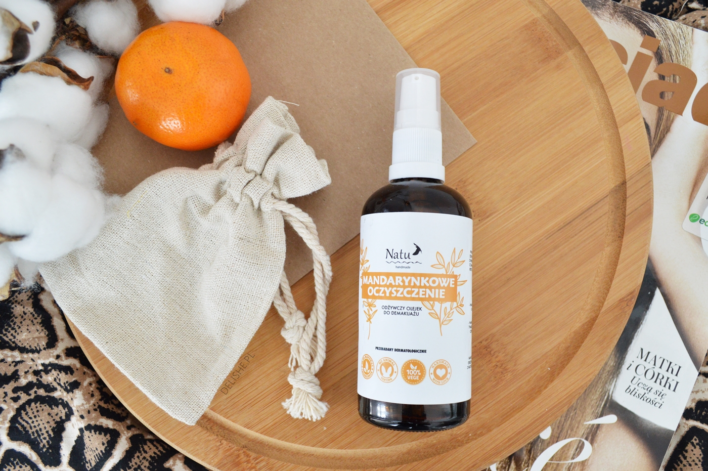 natu handmade olejek kosmetyki naturalne ekocuda zakupy